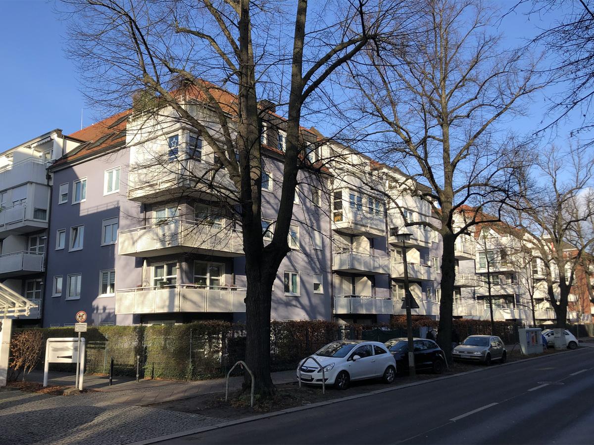 Haus Straßenansicht   Parkstraße
