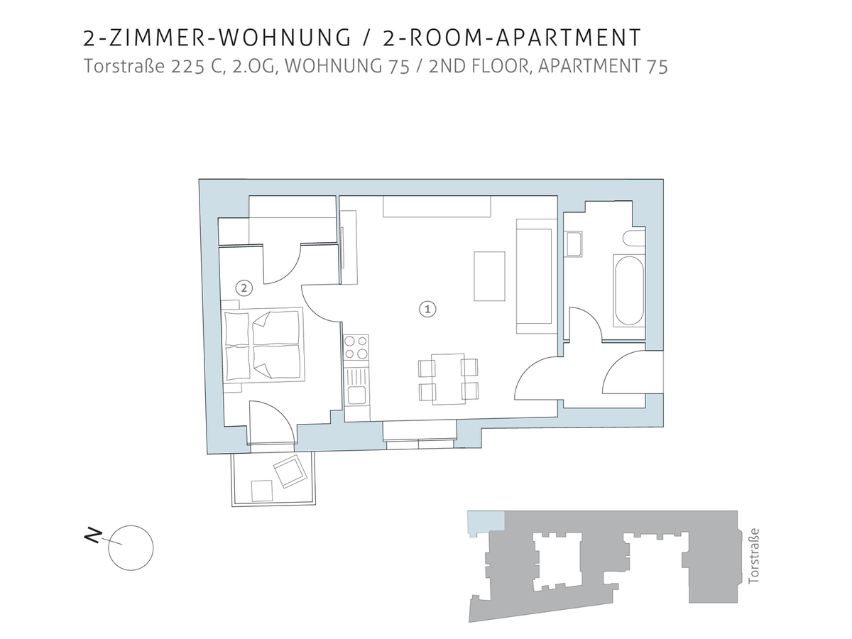 Floor plan unit 75 | Torstraße