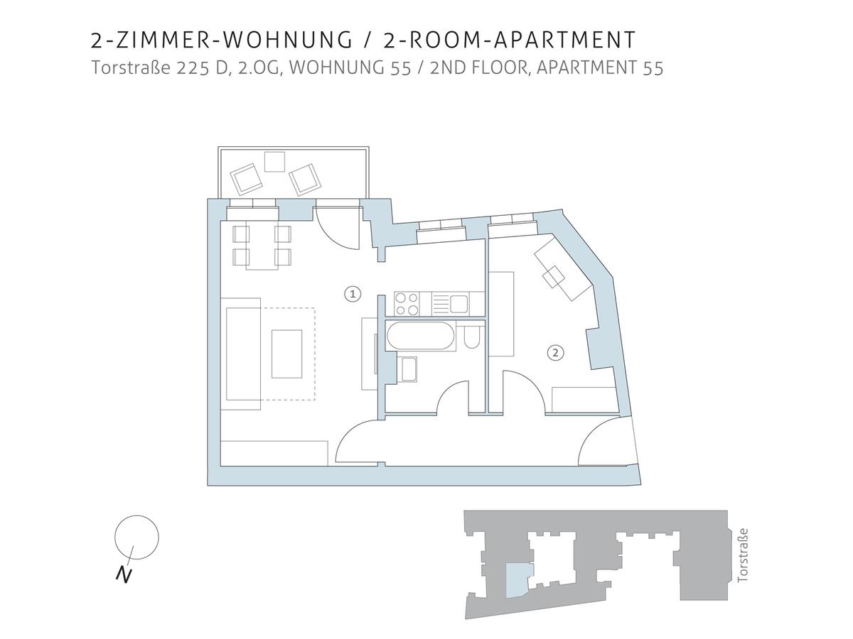 Floor plan unit 55 | Torstraße