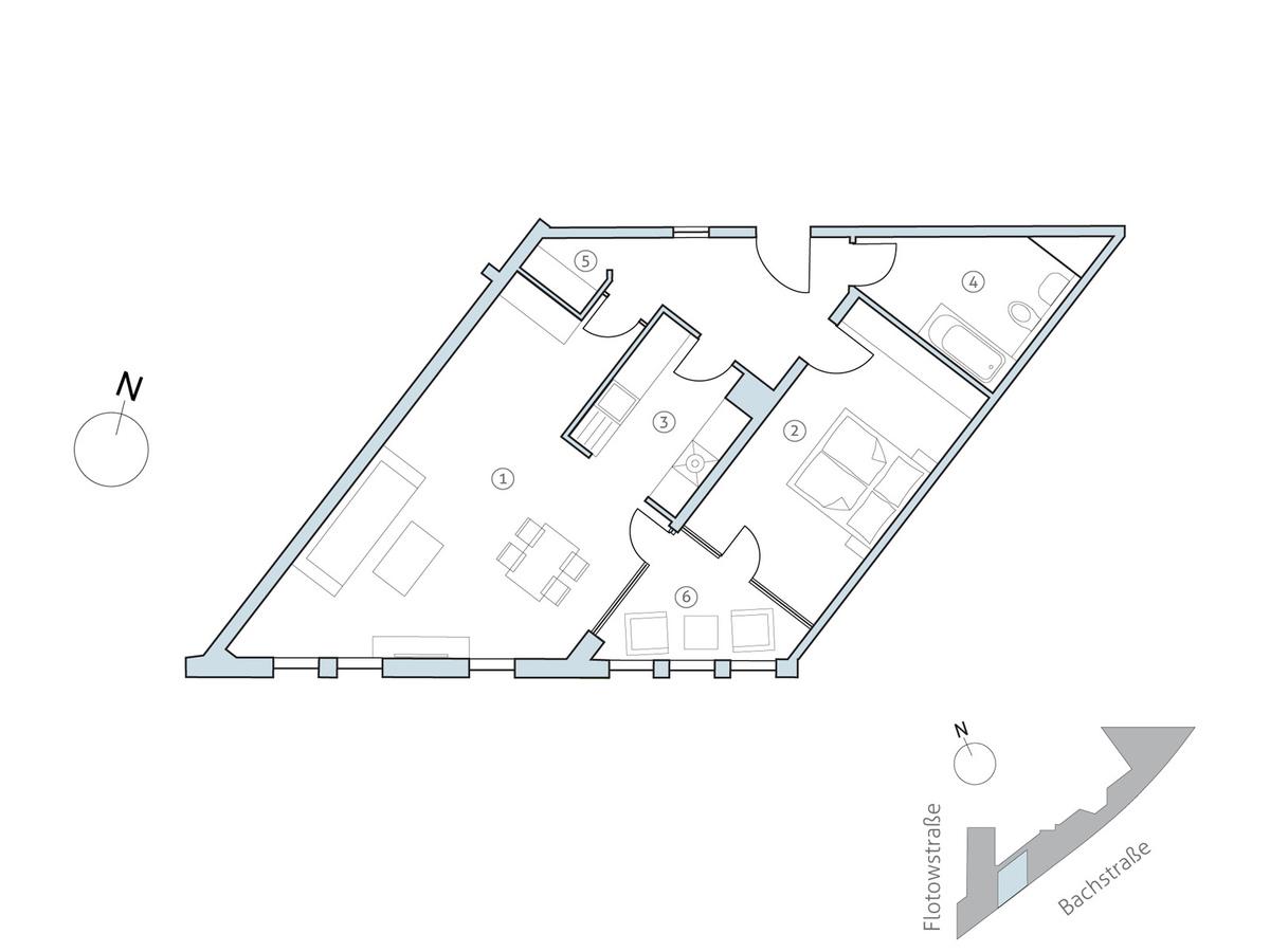 Floor plan unit 27   Flotowstraße