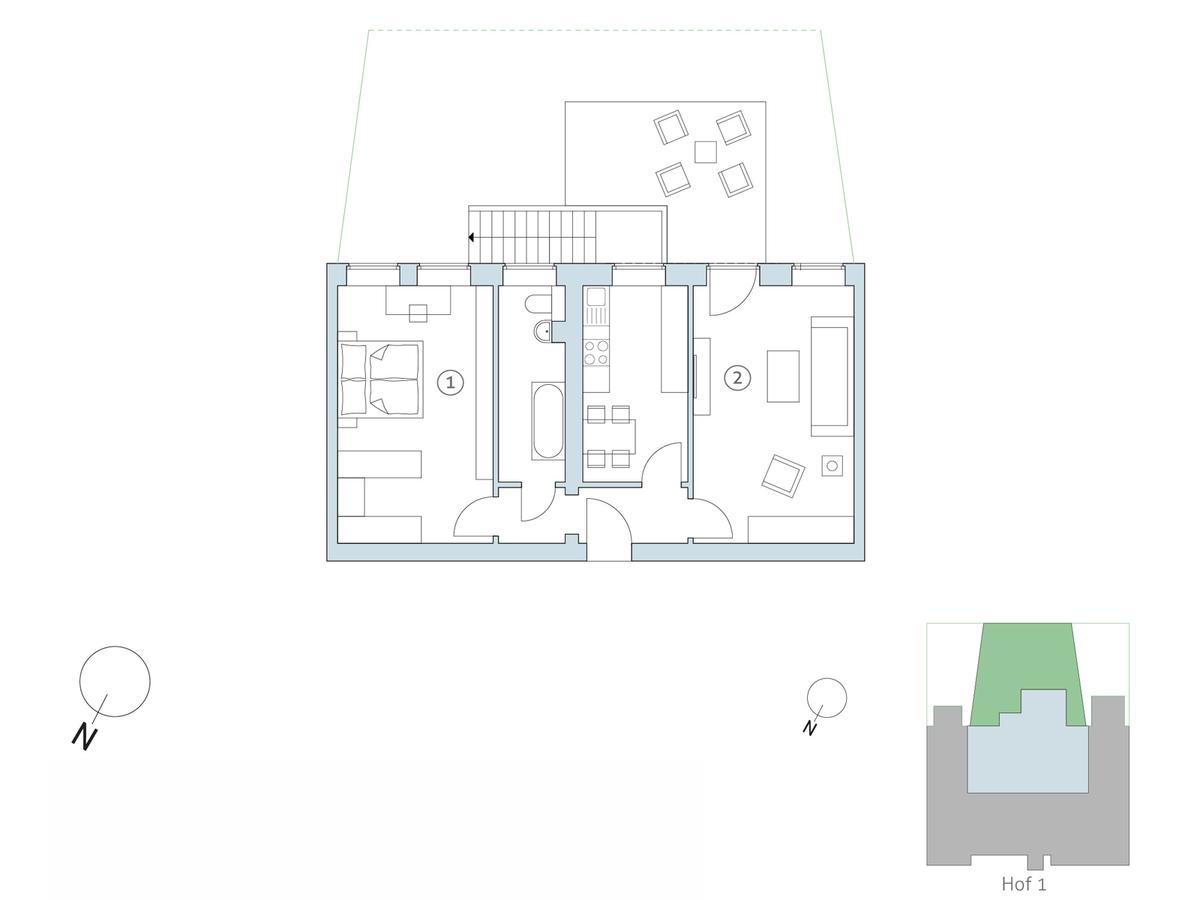 Floor plan no 14 | Binzstraße