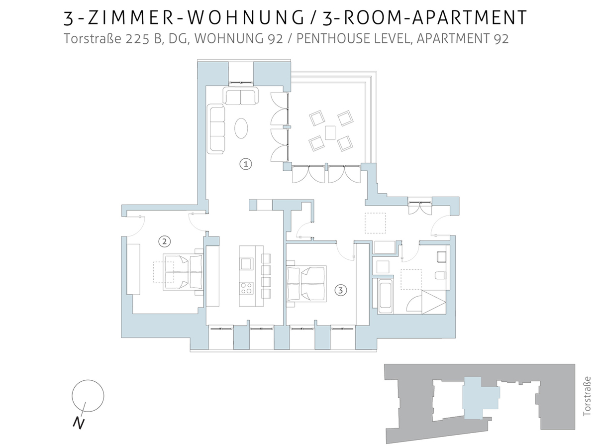 Floor plan unit 92 | Torstraße