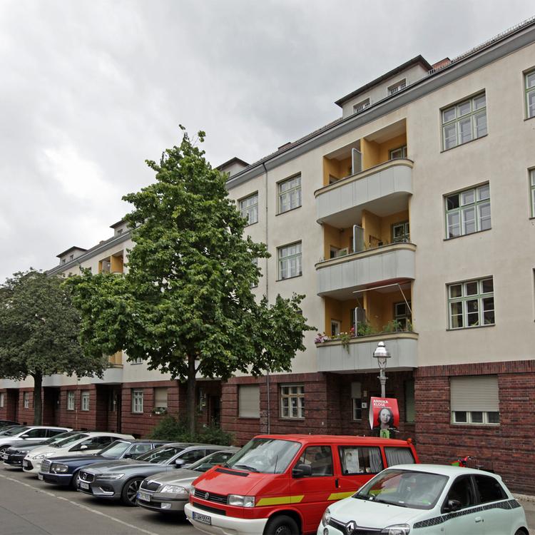Berlin-Wedding: Vermietete 2-Zimmerwohnung mit Balkon
