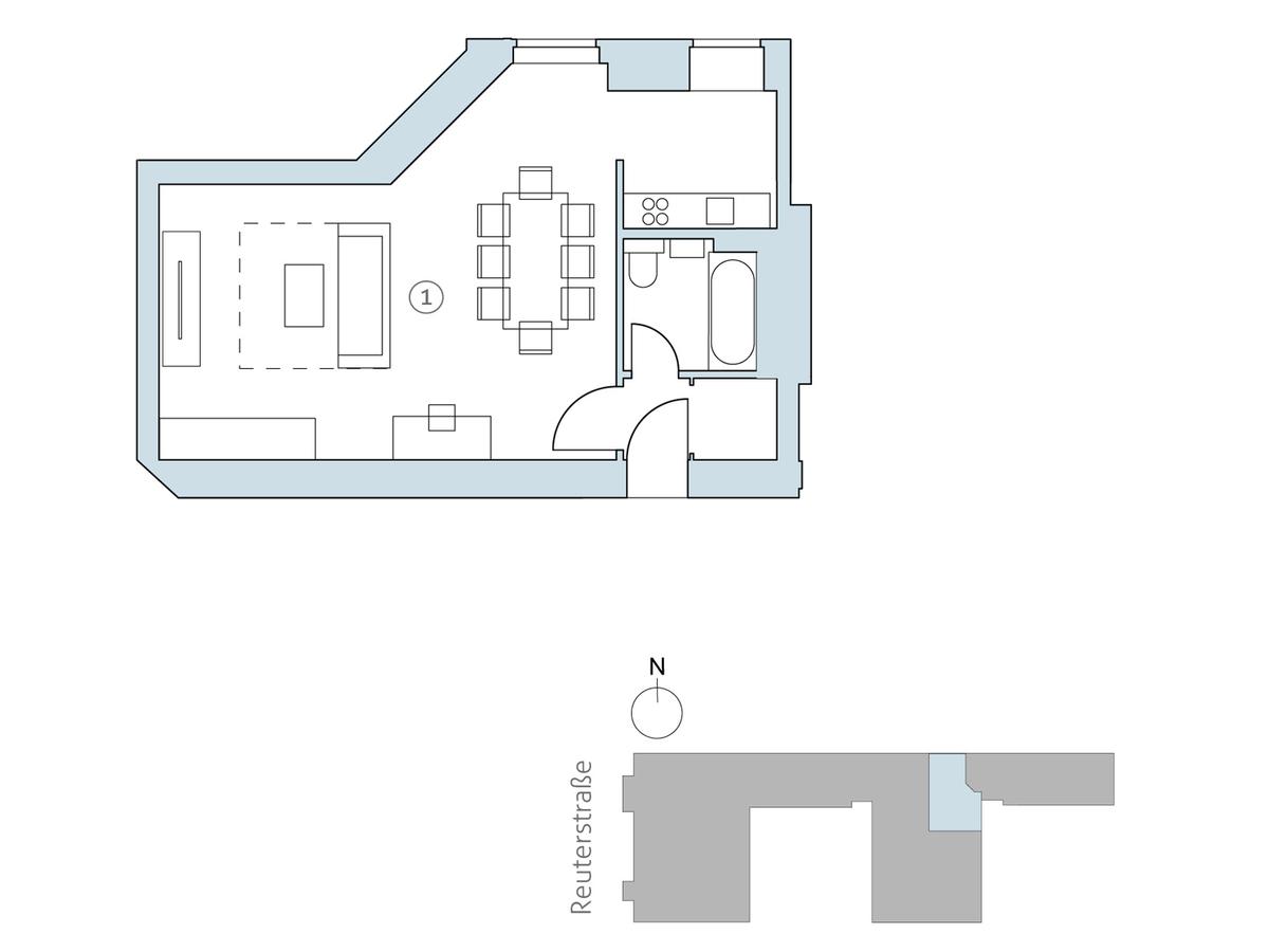 Floor plan unit 21 | Reuterstraße