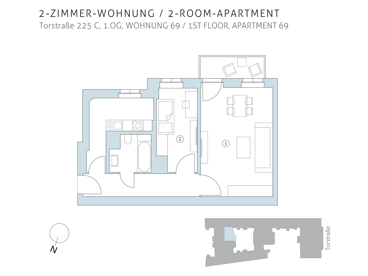 Floor plan unit 69 | Torstraße