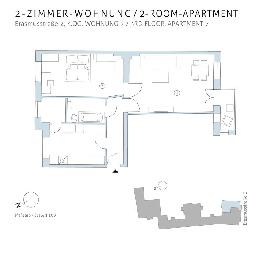 Floorplan unit 07   Erasmusstraße
