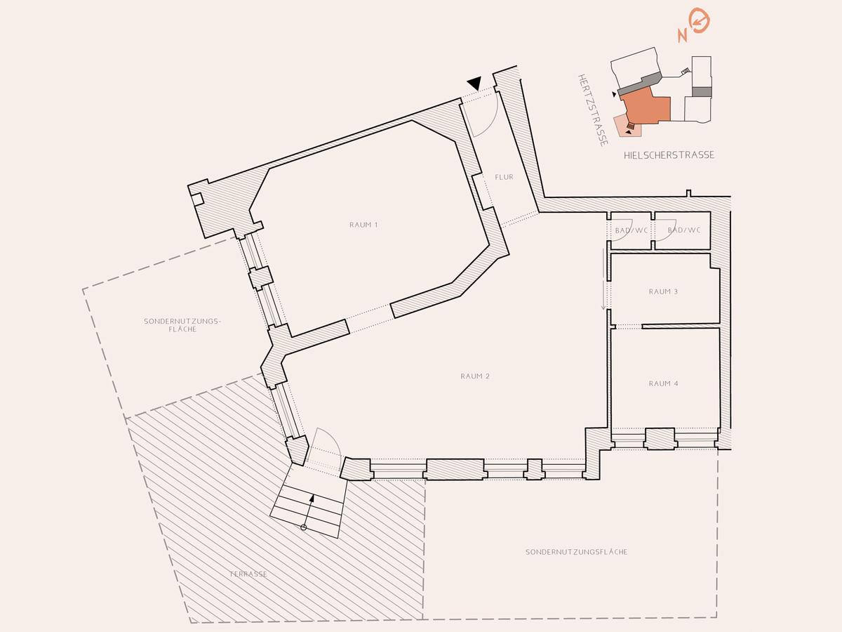 Floor plan   Hertzstraße