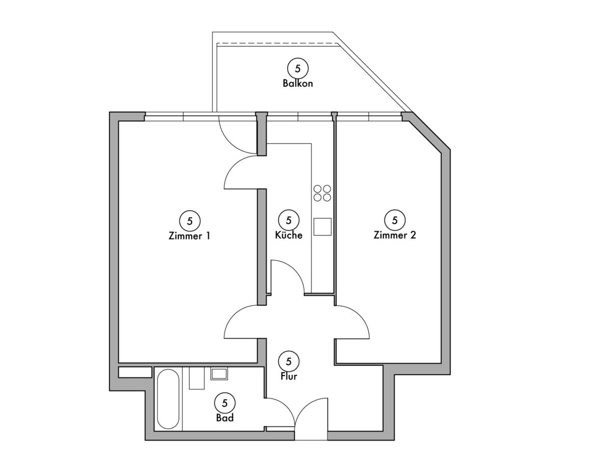 Floor plan unit 05 | Wintersteinstraße