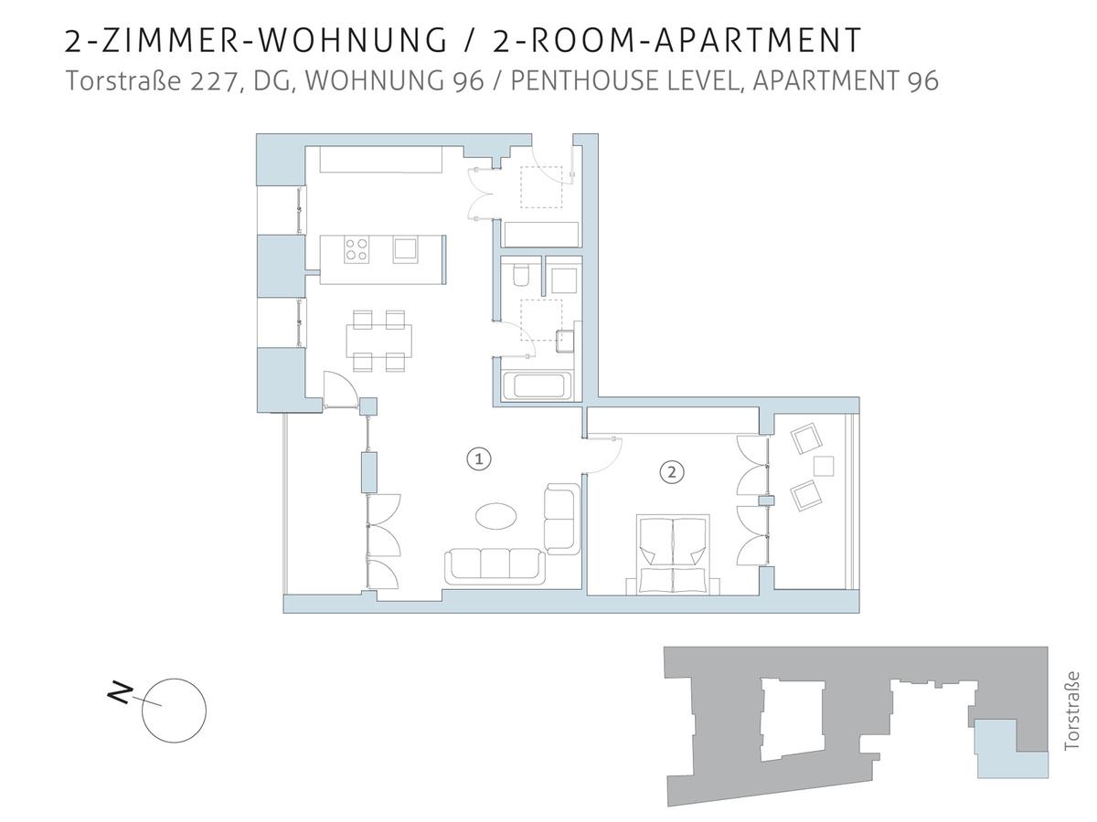Floor plan unit 96 | Torstraße