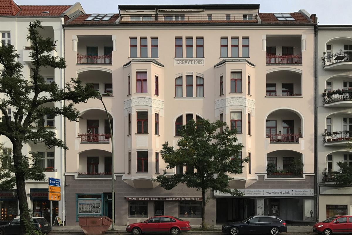 Berlin-Wilmersdorf Hausansicht   Wexstraße