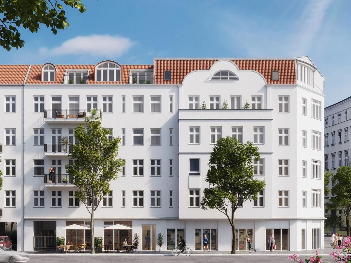 Rendering building   Erasmusstraße