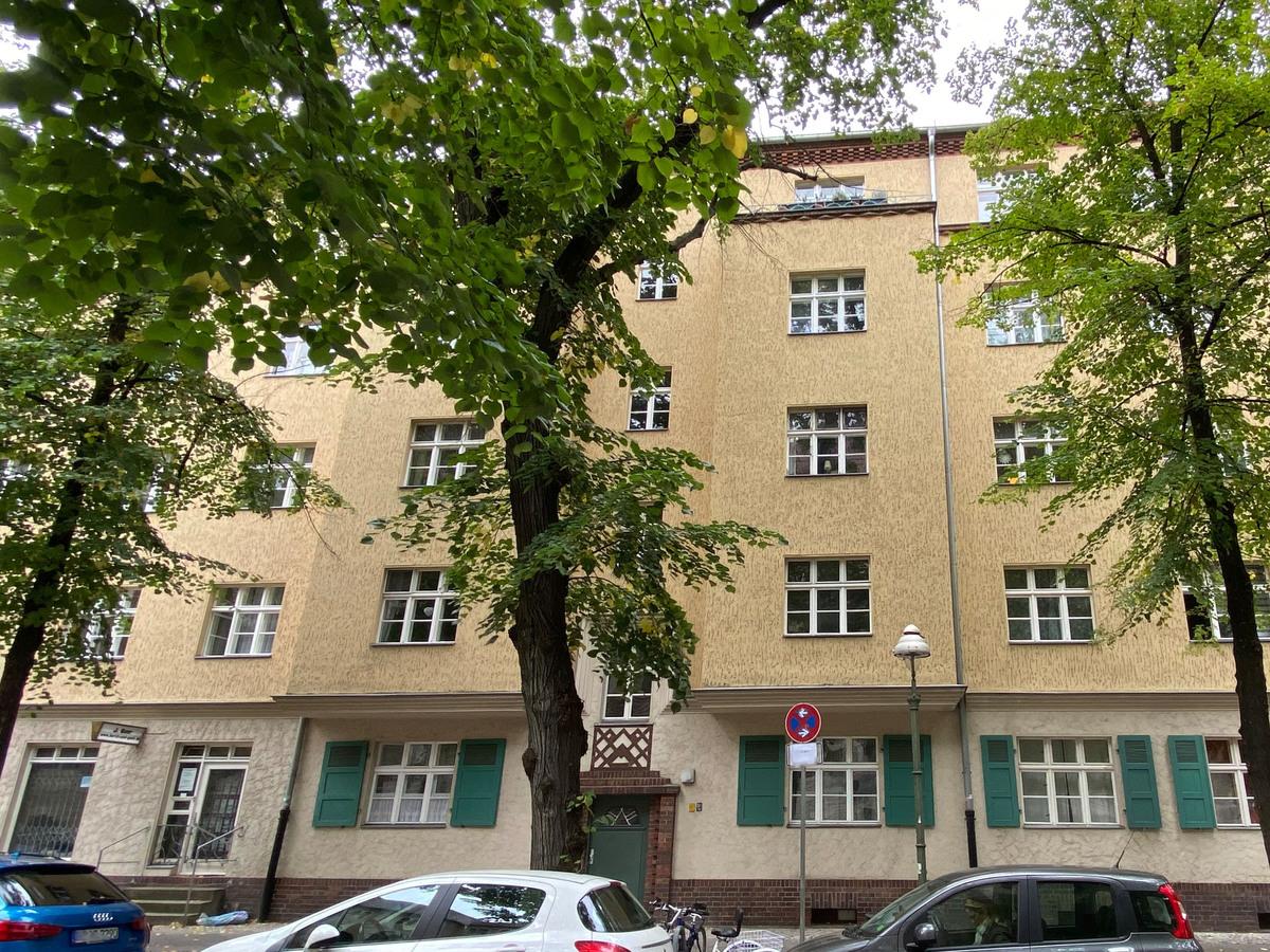 Front View of the building | Herschelstraße
