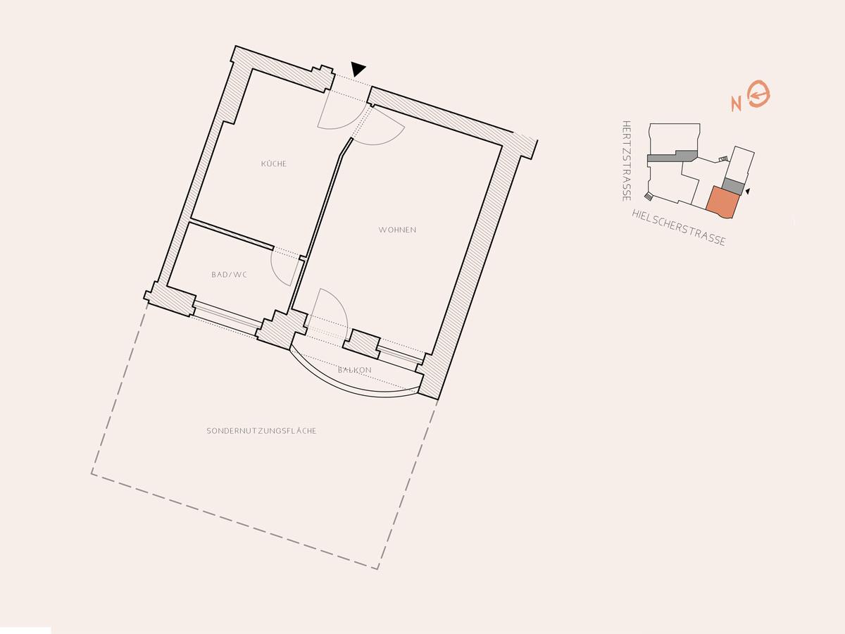 Floor plan unit 10   Hertzstraße