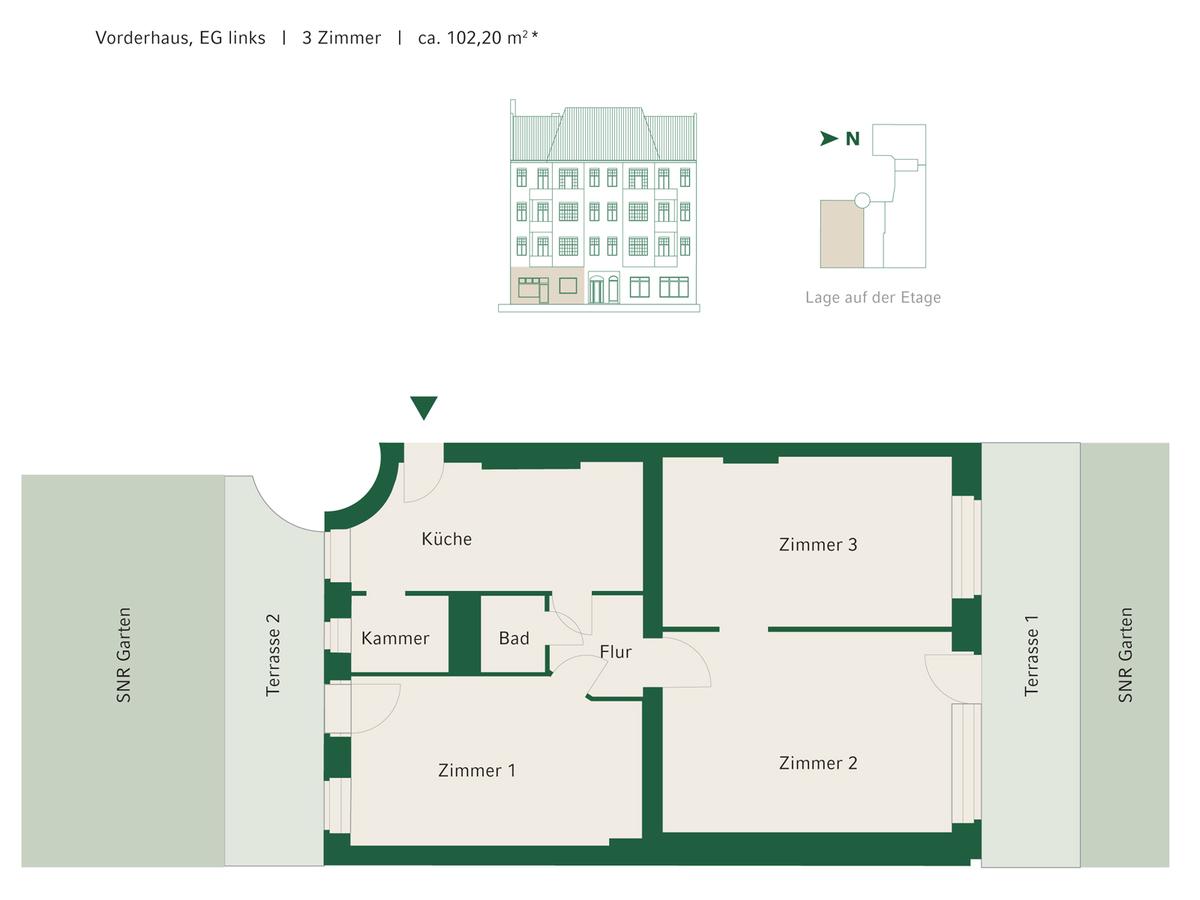 Floorplan Unit 02   Johannisberger Straße