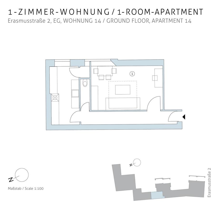 Floorplan unit 14 | Erasmusstraße