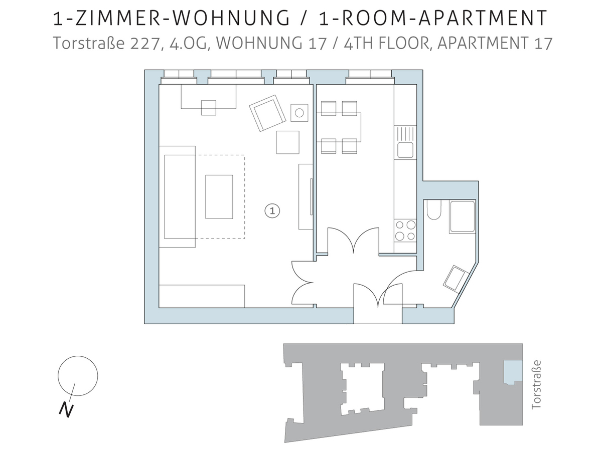 Floor plan unit 17 | Torstraße