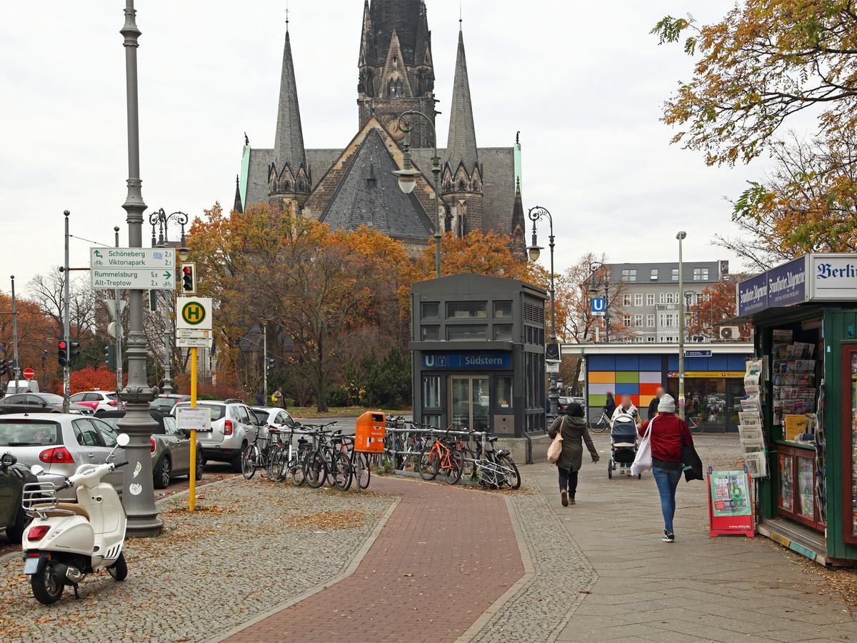 U-Bahnhof Südstern1 | Hasenheide