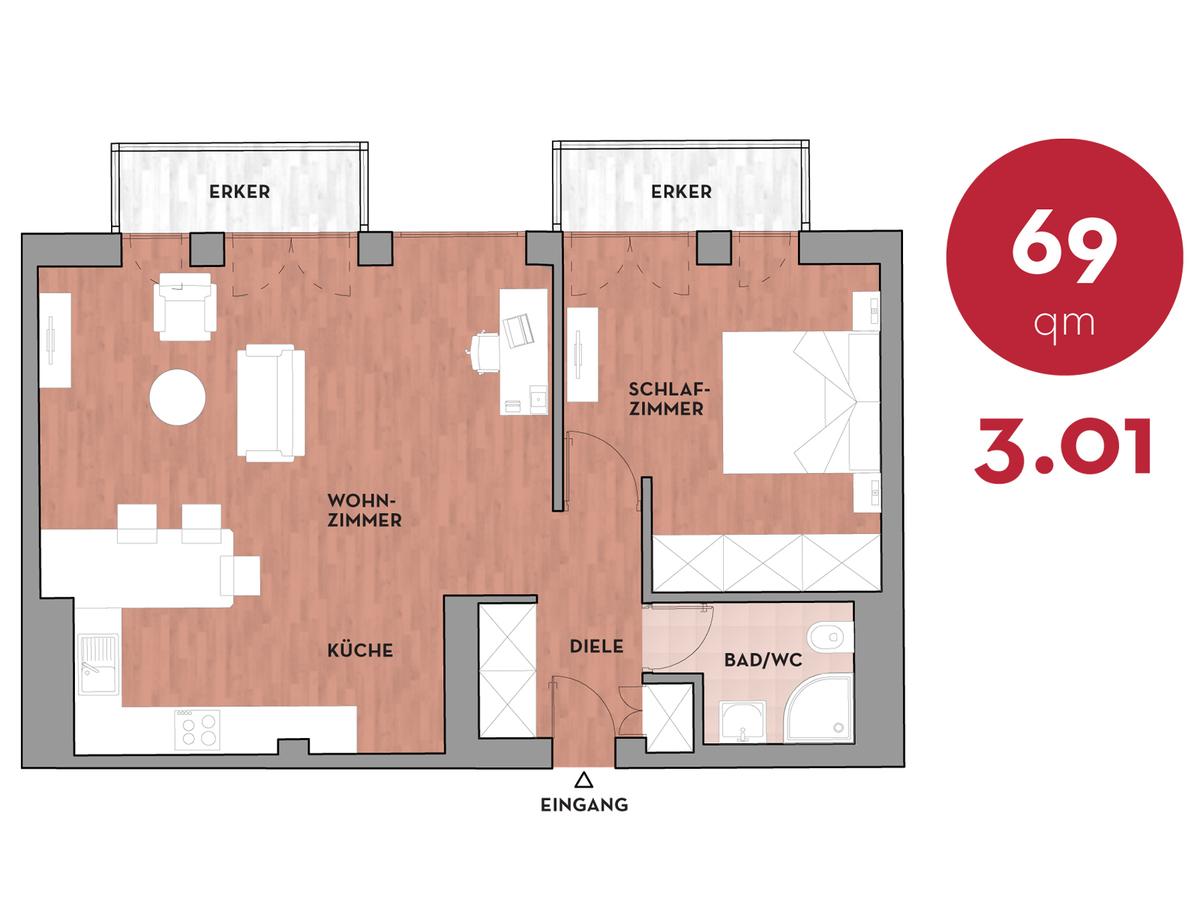 Floor plan 301 | Dorotheenstraße