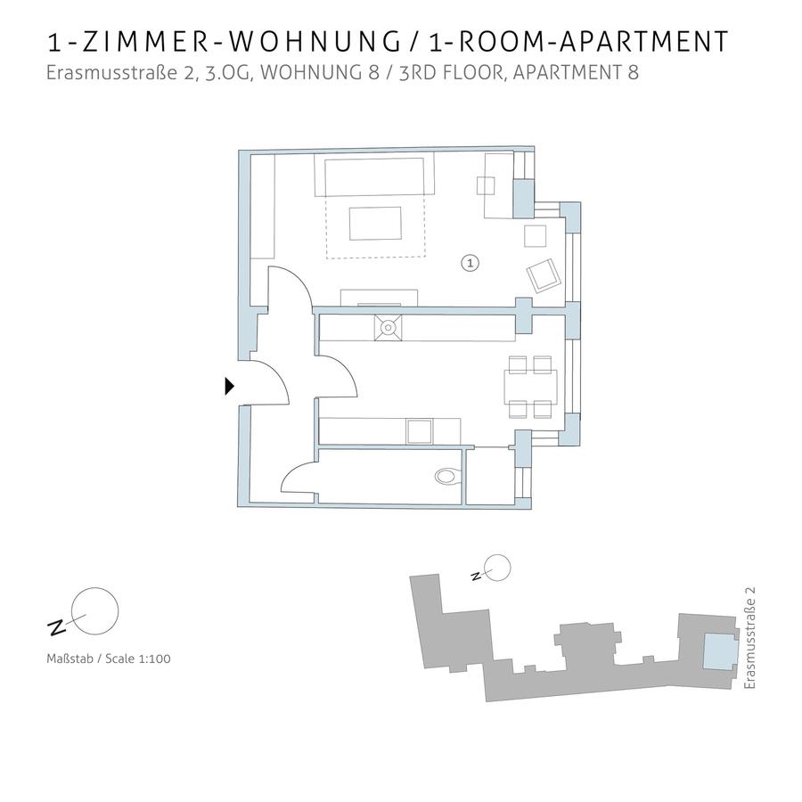 Grundriss 8 | Erasmusstraße