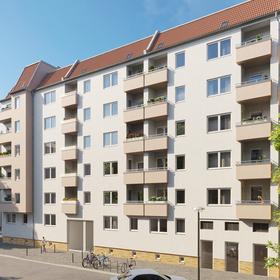 Rendering Scharnweberstraße