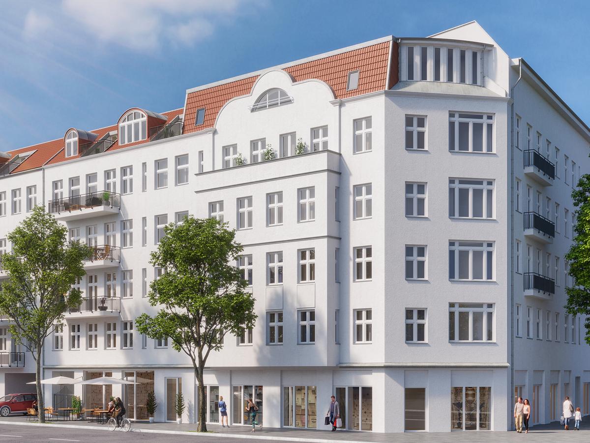 Rendering Hausansicht | Erasmusstraße