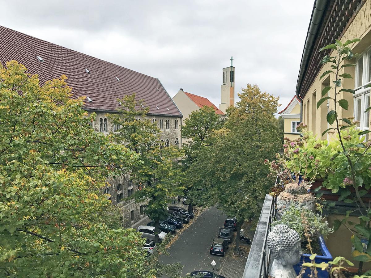 View from one of the balconies | Herschelstraße