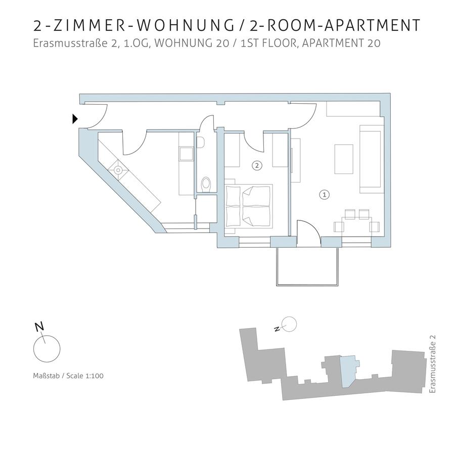Grundriss 20 | Erasmusstraße