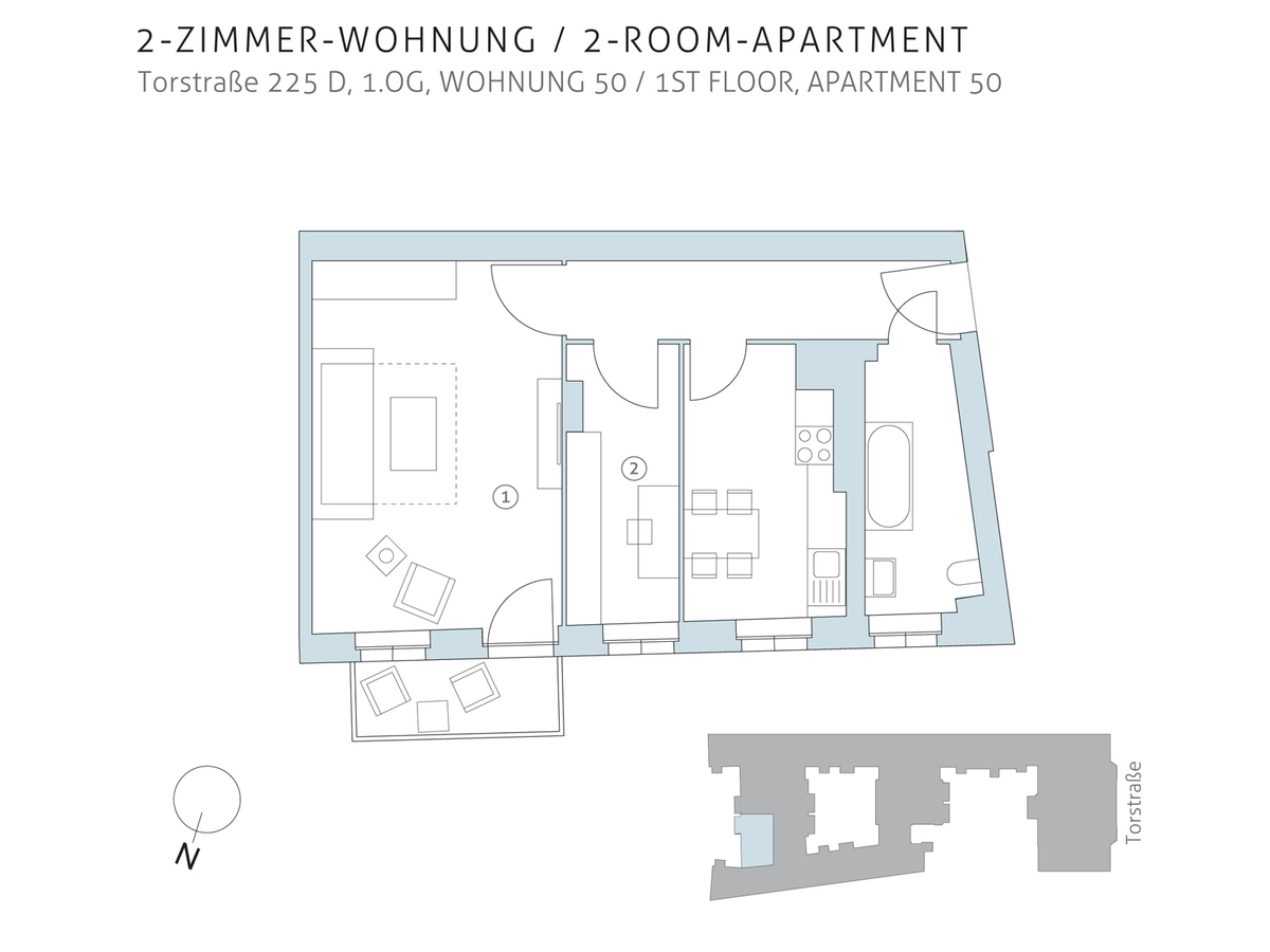 Floor plan unit 50 | Torstraße