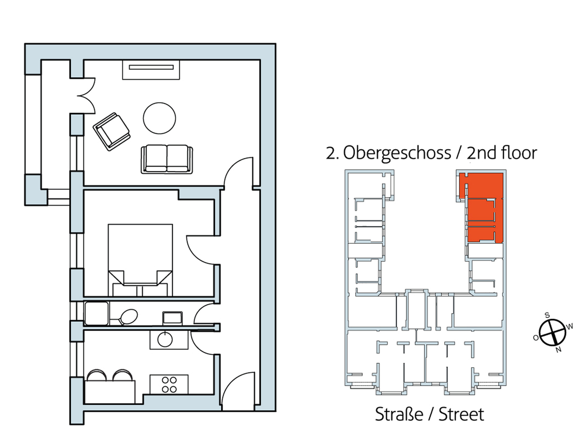 Floor plan Unit 27 | Hasenheide