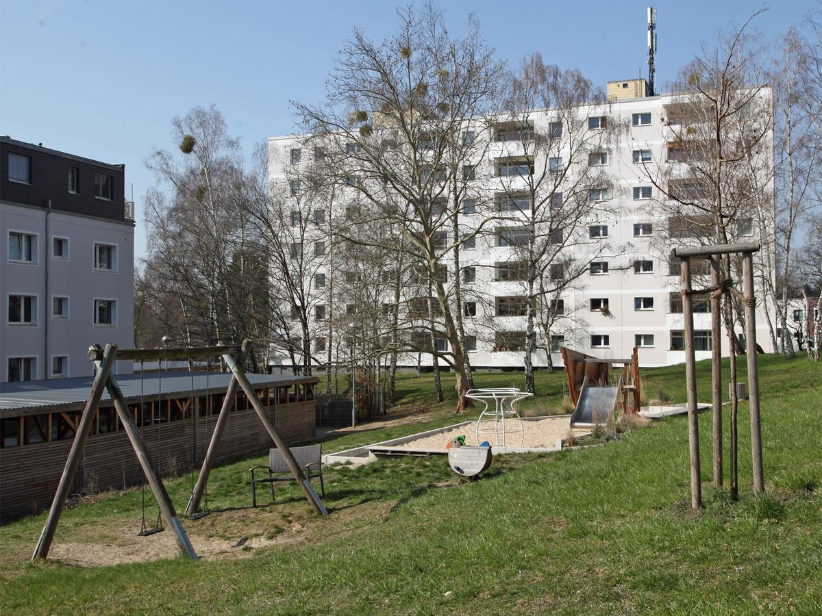 Spielplatz auf dem Hof | Clayallee