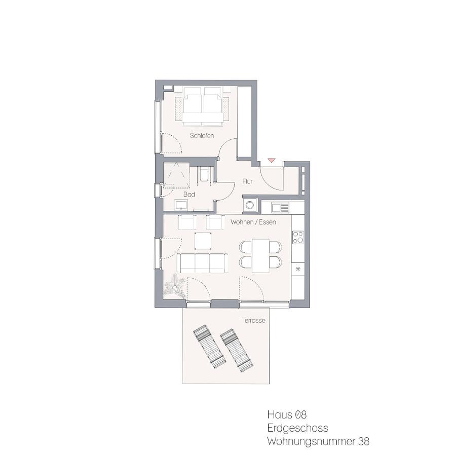 Haus 08 EG WE38 | Hauptstraße