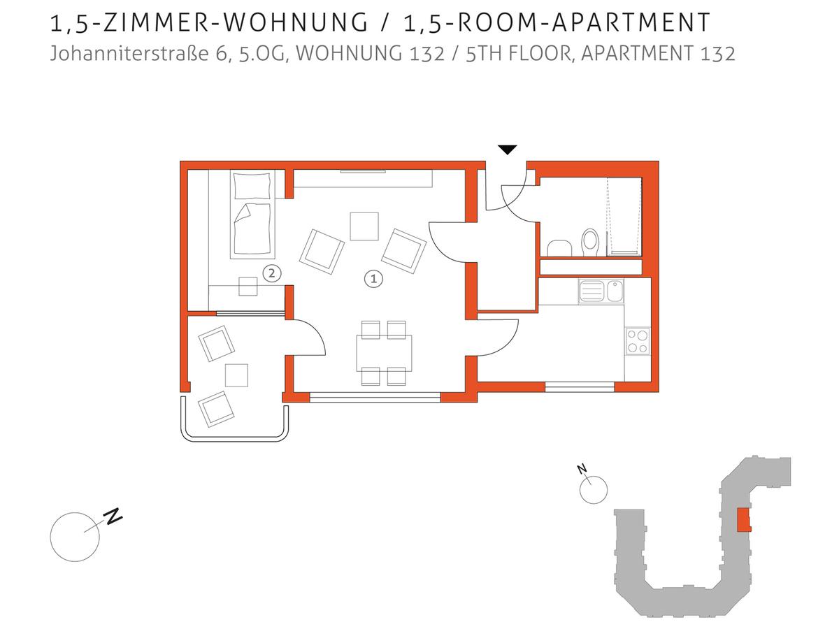 Grundriss 132 | Johanniterstraße