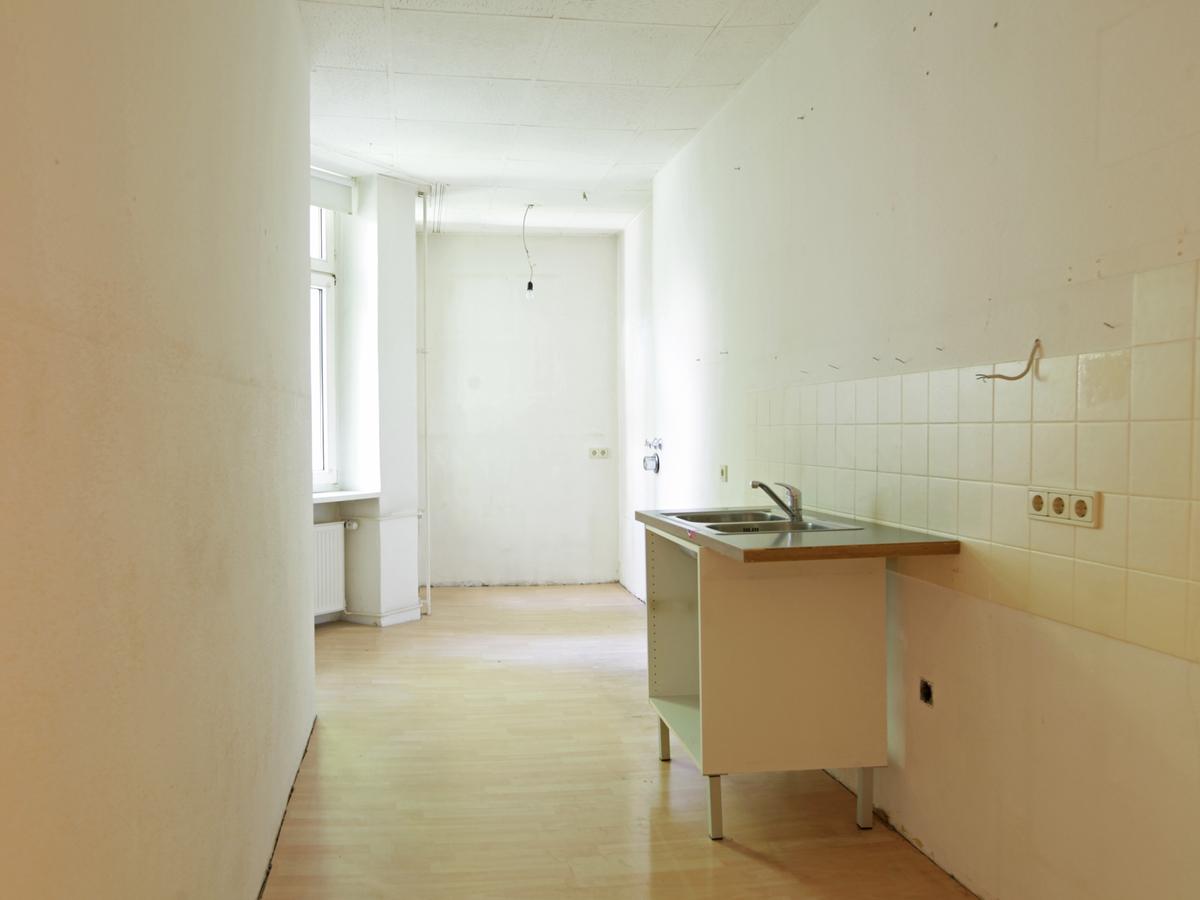 Küche zum zweiten Innenhof | Niebuhrstraße