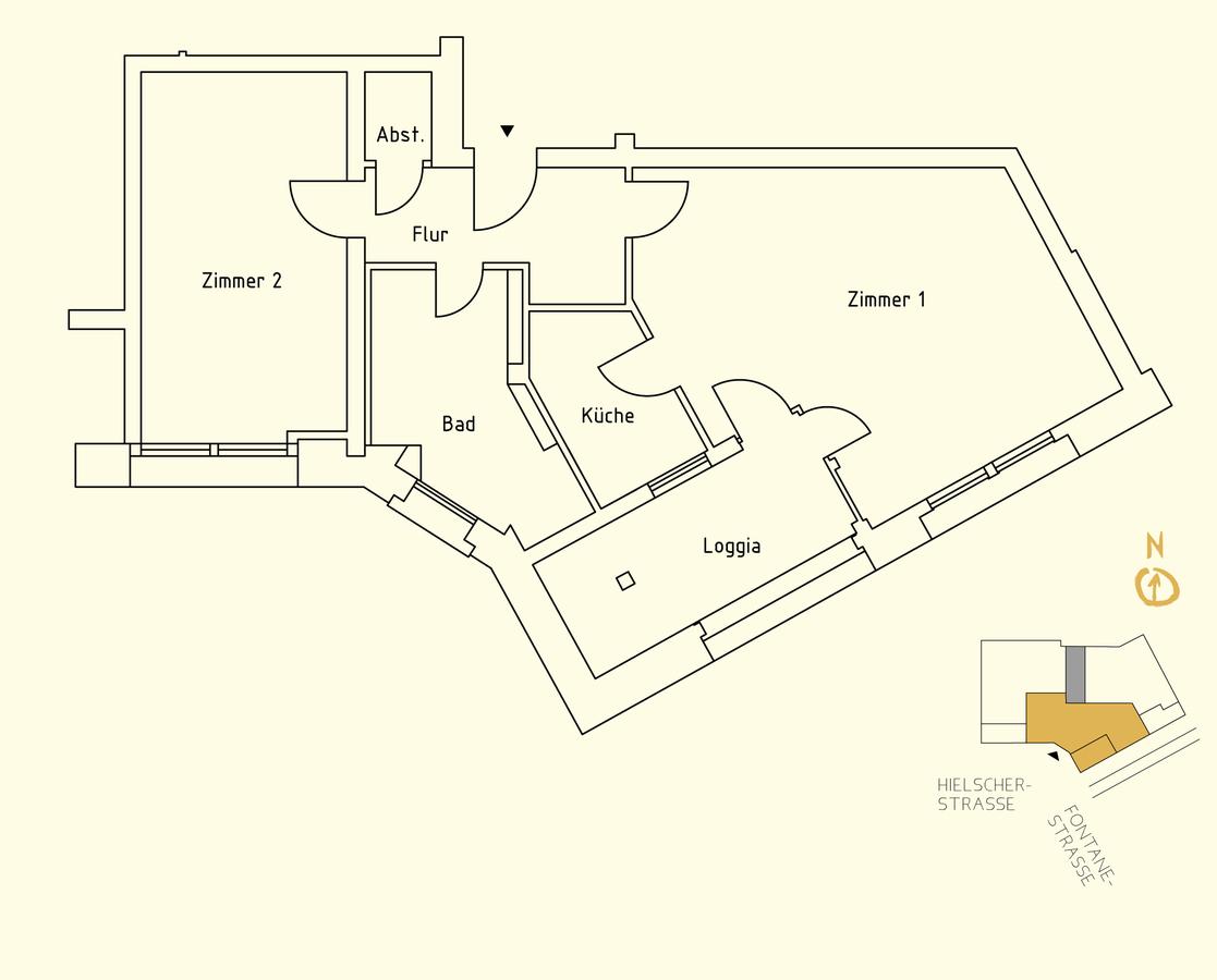 Floor plan unit 15 | Hielscher Straße