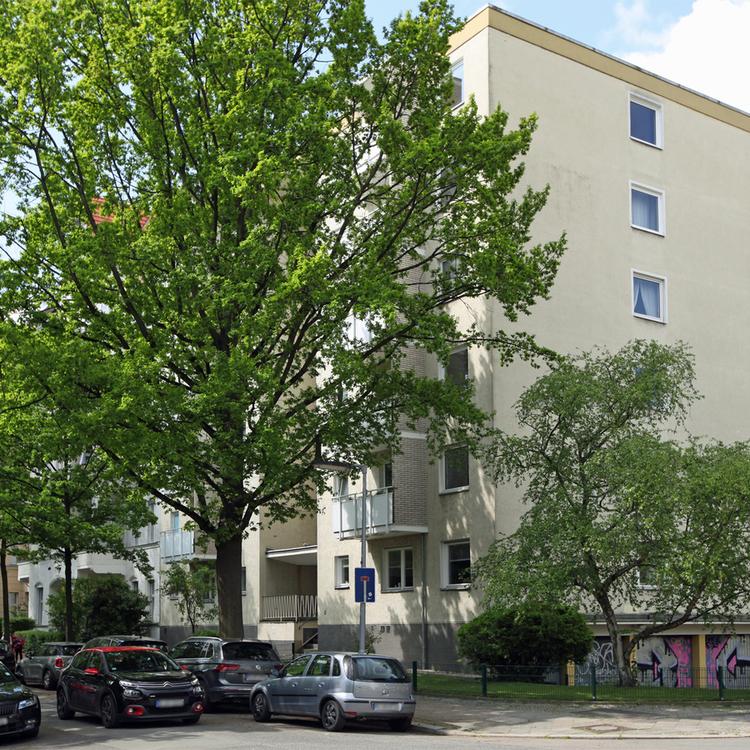 Vermietete 1-Zimmer-Wohnung im Bayerischen Viertel