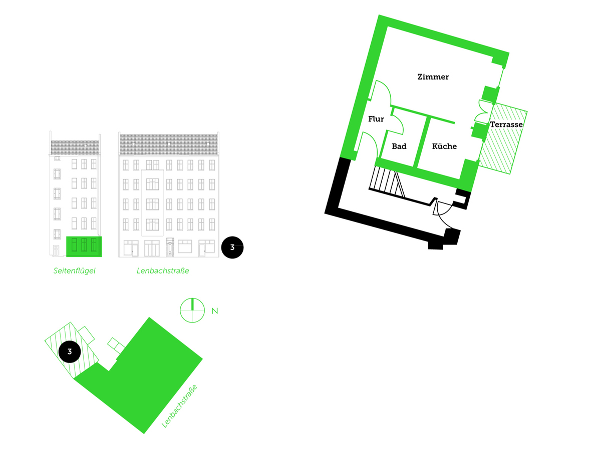 Floor plan unit 3 | Lenbachstraße