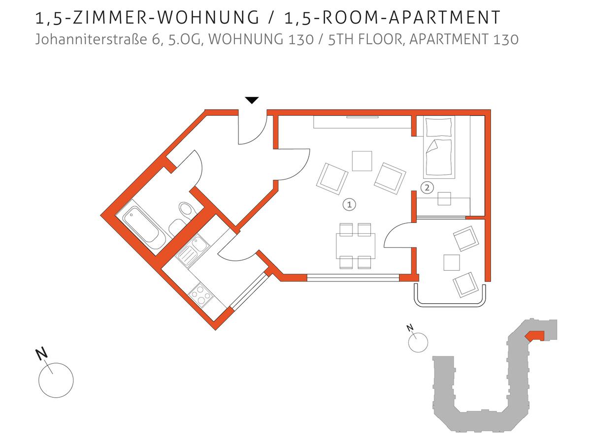 Grundriss 130 | Johanniterstraße
