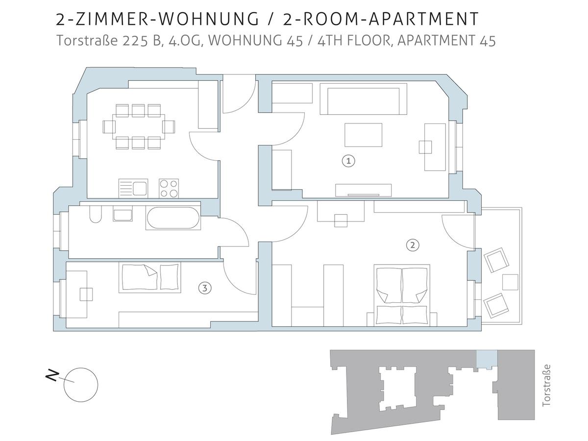 Floor plan unit 45 | Torstraße