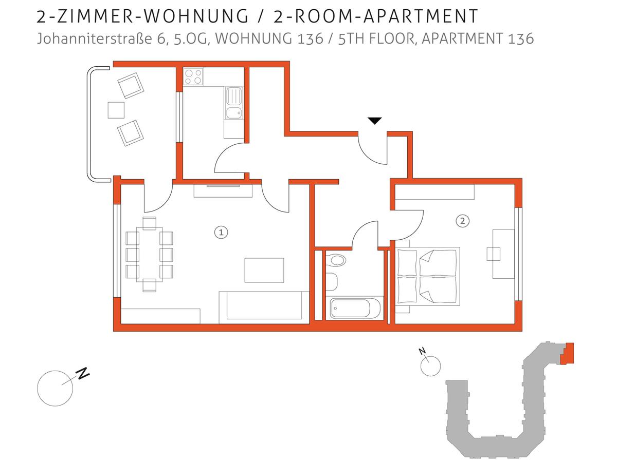 Grundriss 136 | Johanniterstraße