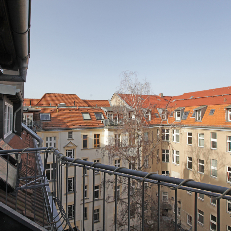 Spacious loft-like top floor apartment in Friedenau