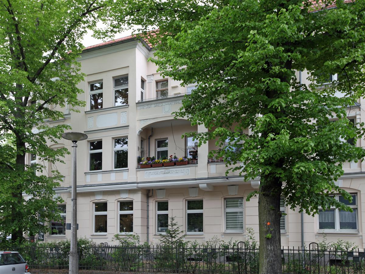 Straßensansicht Hielscher Straße | Hertzstraße
