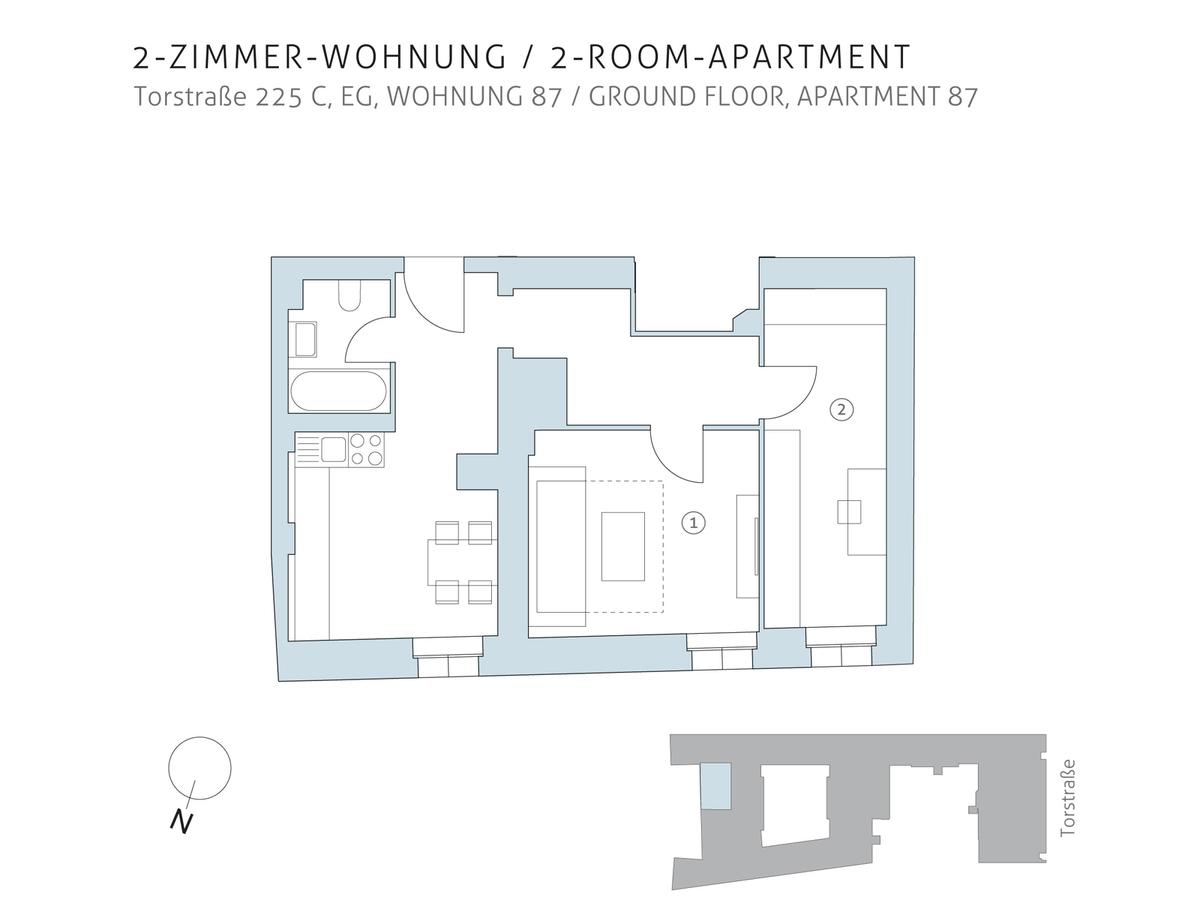 Floor plan unit 87 | Torstraße