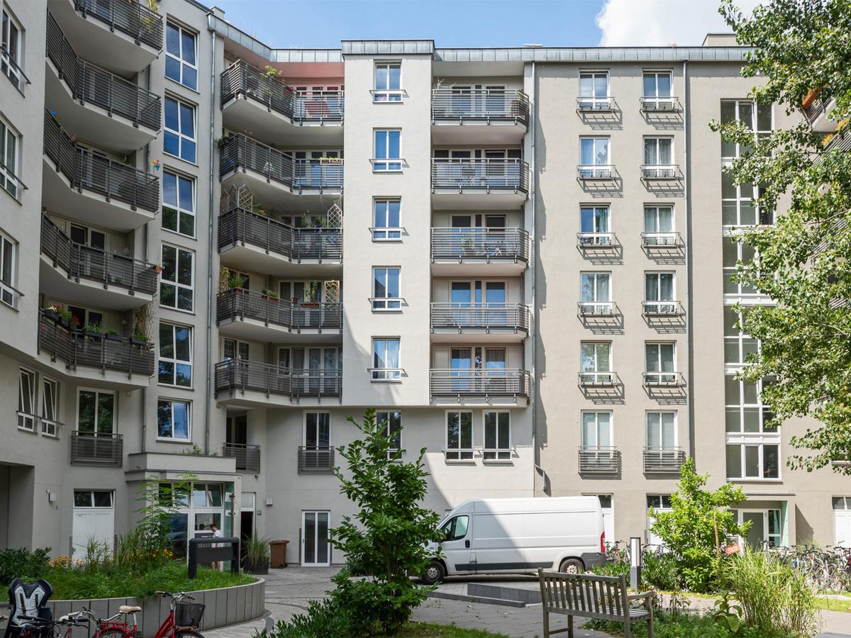 Hausansicht Innenhof | Kreutzigerstraße