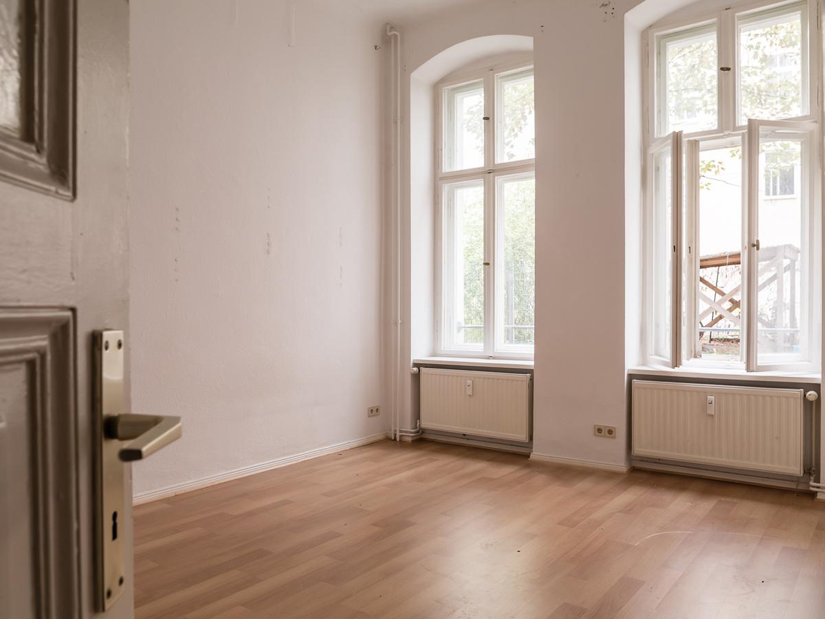 Living room and bedroom | Lenbachstraße