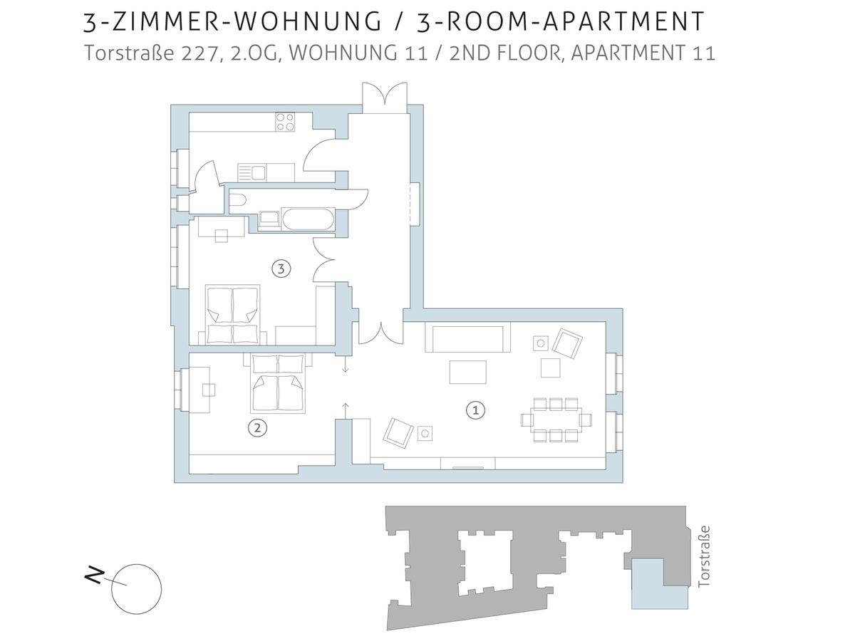 Floor plan unit 11 | Torstraße