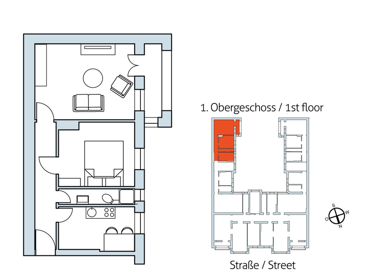 Floor plan Unit 16 | Hasenheide