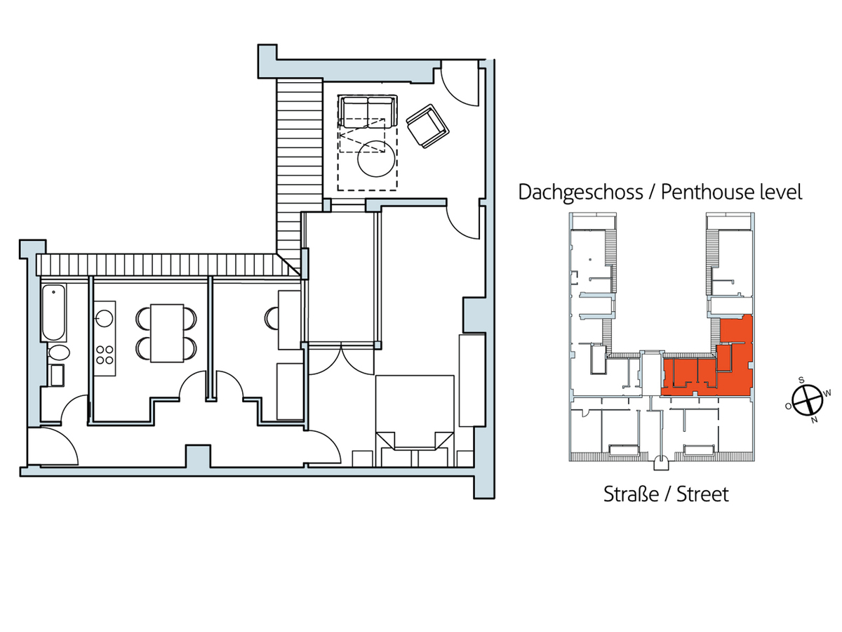 Floor plan Unit 12 | Hasenheide