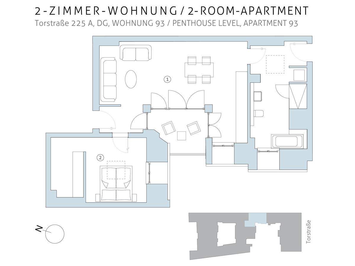Floor plan unit 93 | Torstraße