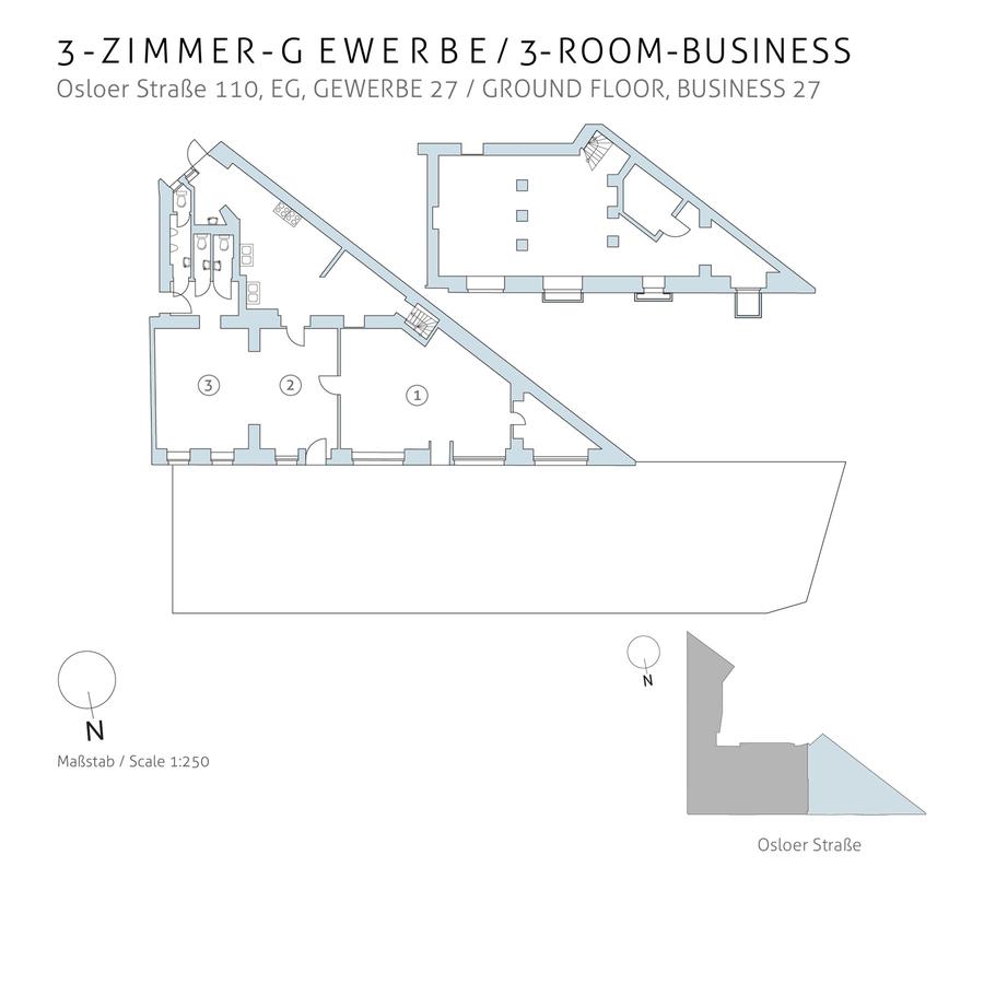 Grundriss 27 | Osloer Straße