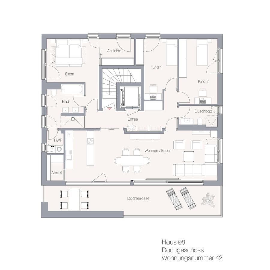 Haus 08 DG WE42 | Hauptstraße
